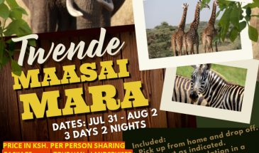 3 Days Twende Maasai Mara Safari