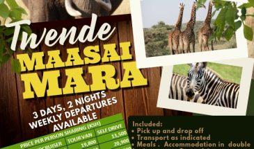 3 Days Twende Maasai Mara Safari